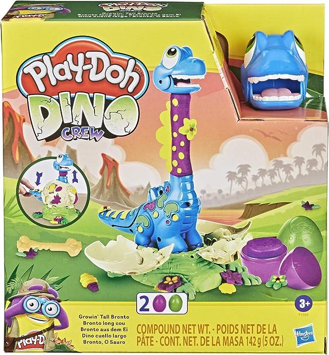 29 opinioni per Play-Doh Hasbro Dino Crew- Il Brontosauro Che Scappa, Dinosauro Giocattolo con 2