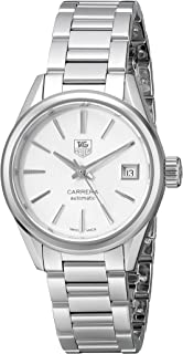 Women's WAR2416.BA0770 Carrera Analog Display Swiss Automatic Silver Watch