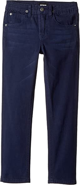 Jagger Slim Straight Twill in Moroccan Blue (Toddler/Little Kids/Big Kids)