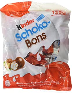 Kinder Schoko-Bons Bombones de Chocolate - 8 Paquete de 125 gr - Total: 1 kg