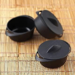 mini serving pots