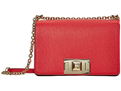 Furla Mimi Mini Crossbody (Fragola) Handbags