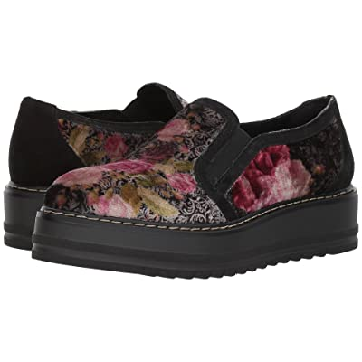 Summit by White Mountain Belton (Black Velvet) Women