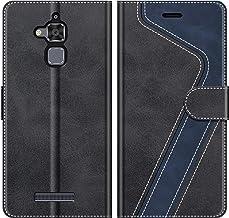 MOBESV Custodia ASUS Zenfone 3 Max ZC520TL, Cover a Libro Zenfone 3 Max ZC520TL, Custodia in Pelle Zenfone 3 Max ZC520TL Magnetica Cover per ASUS Zenfone 3 Max ZC520TL, Elegante Nero