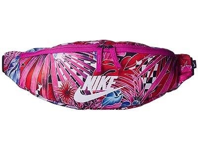 Nike Heritage Hip Pack (Black/Multicolor/Black) Travel Pouch