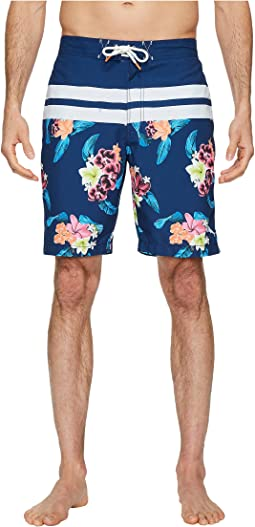 Baja Saltwater Blooms Swim Trunk