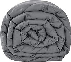 Leefun Koc obciążeniowy 135 x 200 cm, 4 kg, ciężki koc dla dorosłych i dzieci przeciwko zaburzeniom snu i stresowi koc ter...