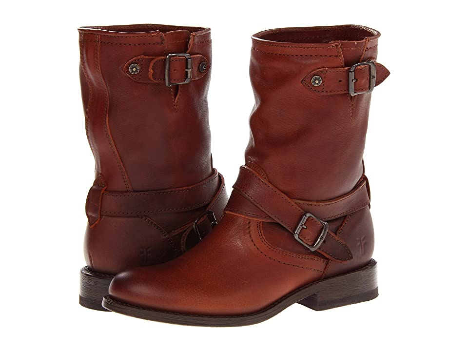 Frye Jayden Cross Engineer (Whiskey Tumbled Full Grain) Women