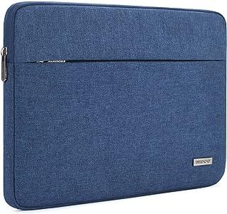 """NIDOO ラップトップスリーブ 15.6 インチ スリーブケース インナーケース(15.6"""" Lenovo Yoga Chromebook/Lenovo ThinkPad E585 T580 / HP EliteBook 755 G5 / Acer Swift 3 / Dell Latitude 5590 / Asus ZenBook 15) Laptop Sleeve, ブルー"""