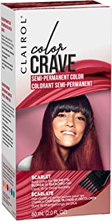 Clairol Color Crave Semi-permanent Hair Color, Scarlet, 1 Count