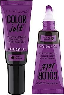 Maybelline Lip Studio Color Jolt Intense Lip Paint, Violet Rebel, 0.21 fl. oz.