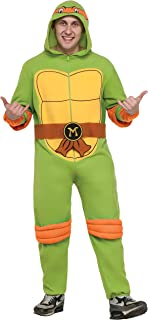 Teenage Mutant Ninja Turtles Michelangelo Hooded Jumpsuit