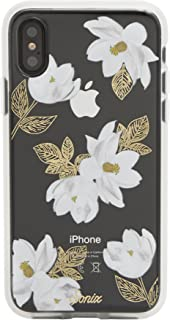 Sonix Oleander Case for iPhone X/XS [Military Drop Test Certified] Women's Protective White Floral Clear Case for Apple iPhone X, iPhone Xs