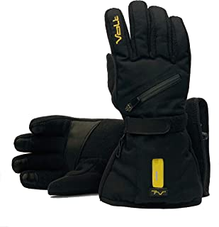 Fleece Heated Gloves by Volt, Powered by/comes with 7V batteries and dual wall charger, Zero Layer Heat System