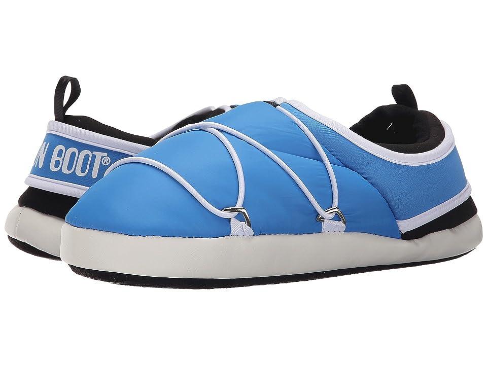 Tecnica Moon Boot(r) Apollo Slipper (Blue) Cold Weather Boots