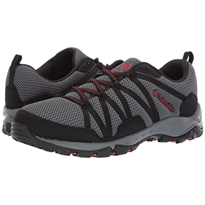 Columbia Firecamptm Knit (Graphite/Fiery Red) Men