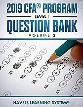 2019 CFA® Program Level 1 Question Bank: Volume 2 (2019 CFA Level 1 Question bank)