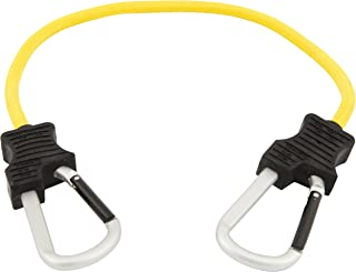 Keeper 06152 24 Super Duty Bungee Cord with Carabiner Hook (Yellow)