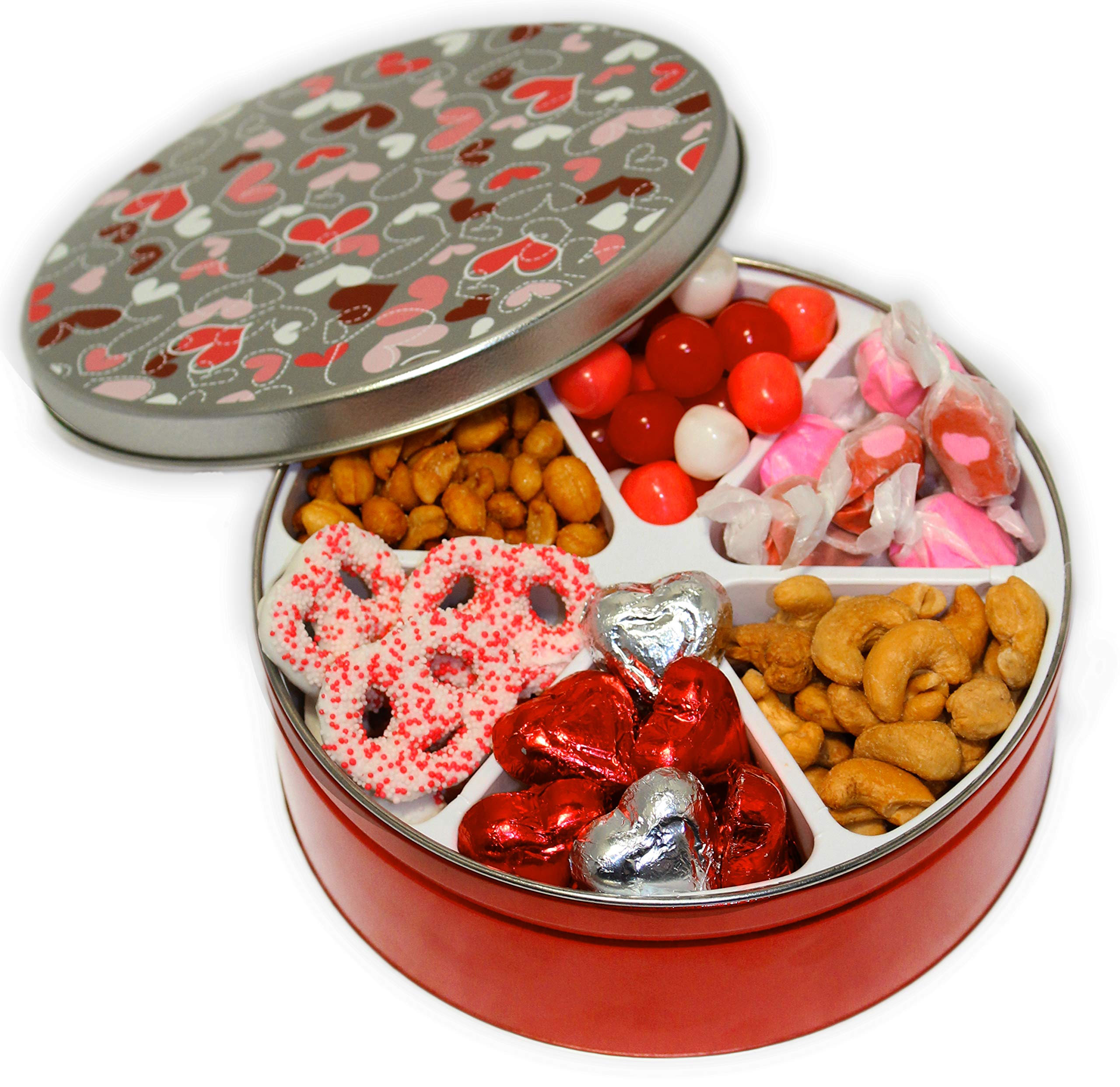 Valentines Day Candy Gift Basket Filled With Assorted Candies Chocolates Nuts Sweet Treats Gourmet Food Keepsake Gift Box For Husband Wife Boys Girls Boyfriend Girlfriend Prime Delivery Buy Online In Hong Kong