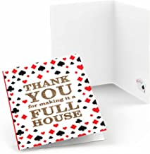 Las Vegas - Casino Party Thank You Cards (8 Count)