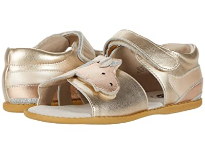 Livie & Luca Unicorn (Little Kid) (Gold Metallic) Girl