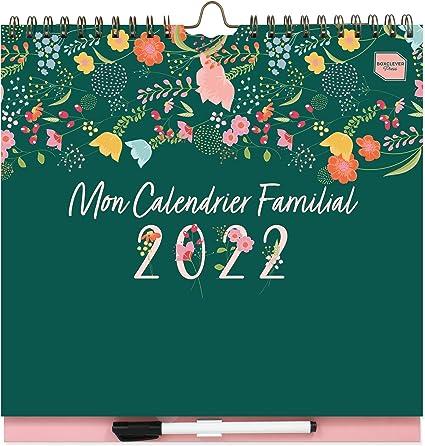 Calendrier Familial 2022 A Imprimer Boxclever Press Mon Calendrier Familial 2021 2022. Calendriers
