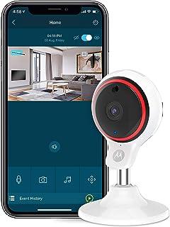 Motorola FOCUS 71   1080p HD domowa kamera monitorująca   Wi-Fi za pośrednictwem smartfona do domu   biała