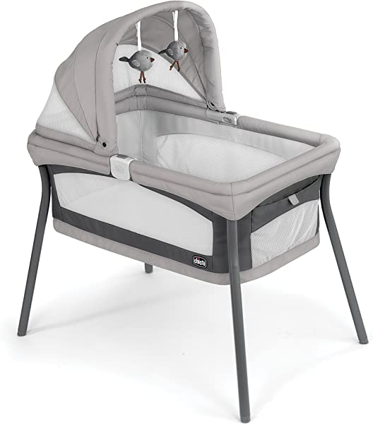 Chicco LullaGo Nest Portable Bassinet Vanilla