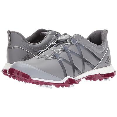 adidas Golf adiPower Boost Boa (Grey Three/Grey Four/Mystery Ruby) Women