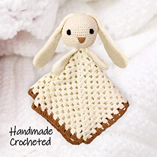 Crochet Baby Lovey - Security Blanket | 100% Handmade | 100% Cotton