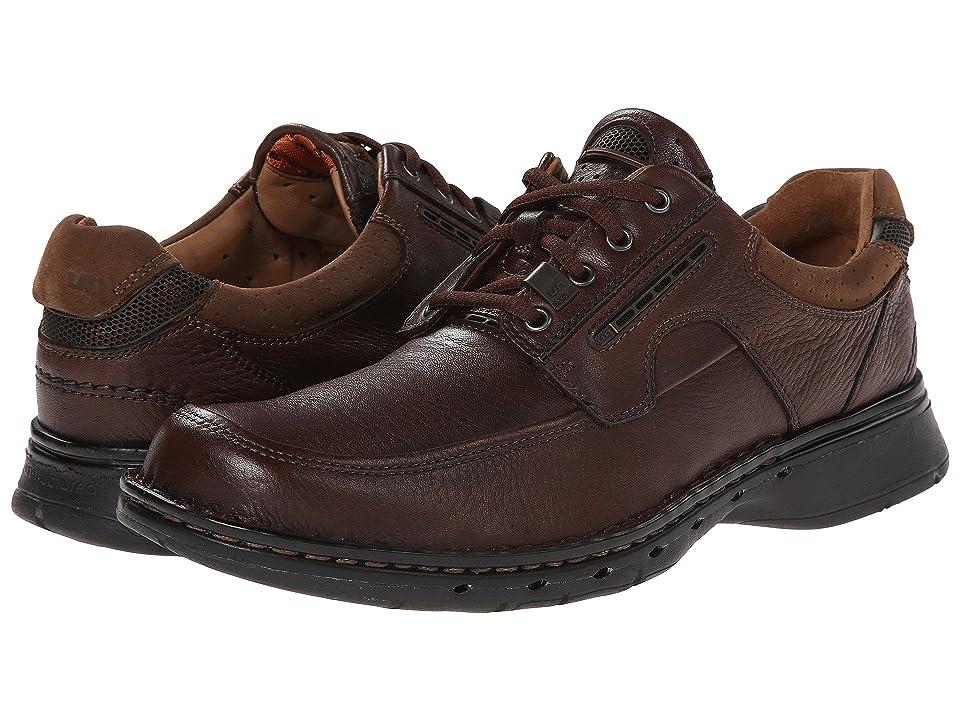Clarks Un.bend (Brown Leather) Men