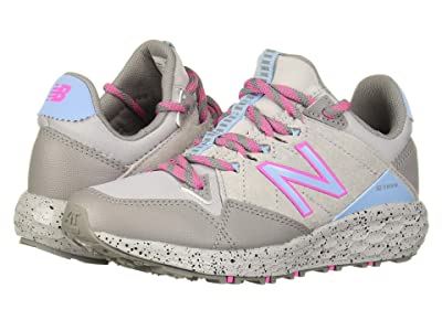 New Balance Kids Fresh Foam Crag v1 (Little Kid) (Rain Cloud/Summer Sky/Light Peony) Girls Shoes