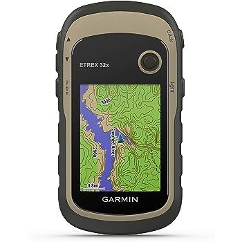 """Garmin ETREX 32x - Navigatore portatile a colori da 2,2"""" e mappa TopoActive preinstallata, GPS/GLONASS, Altimetro barometrico, 8 GB espandibili"""