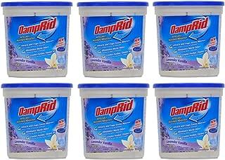 Damprid Moisture Absorber Lavender Vanilla, 10.5oz (Pack of 6), White