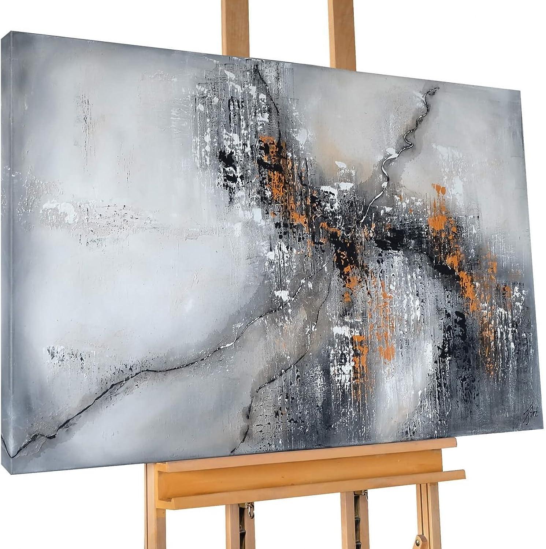 KunstLoft® Acryl Gemälde \'Cracking Concrete\' 120x80cm ...