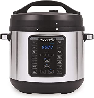 Instant Pot Duo Nova Pressure Cooker 7 in 1, 3 Qt, Best for Beginners Ninja FD401 Foodi 8-Quart 9-in-1 Deluxe XL Pressure Cooker, Broil, Dehydrate, Slow Cook, Air Fryer, and More, with a Stainless Finish Yedi 9-in-1 Total Package Instant Programmable Pressure Cooker, 6 Quart, Deluxe Accessory kit, Recipes, Pressure Cook, Slow Cook, Rice Cooker, Yogurt Maker, Egg Cook, Sauté, Steamer, Copper Crock-pot 8-Quart Multi-Use XL Express Crock Programmable Slow Cooker with Manual Pressure, Boil & Simmer, 8QT, Stainless Steel