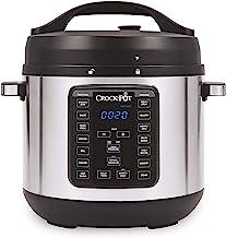 Crock-pot 8-Quart Multi-Use XL Express Crock Programmable Slow Cooker with Manual..