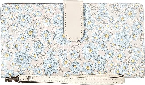 Pastel Turquoise Bouquet Print