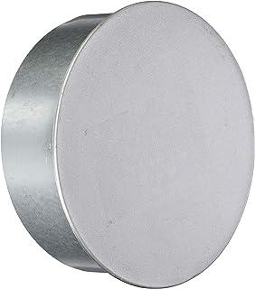 FIREFIX A150/K FAL Bouchon de Tuyau de poêle Ø 150 mm – Tubes en tôle d'acier 0,6 mm d'épaisseur – Soudé au Laser – Argent