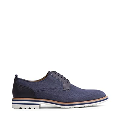 Steve Madden Carlyn Oxford (Navy Fabric) Men