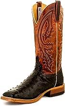 Anderson Bean Men's Boots - S1098 Vamp Black FQ Ostrich 11EE