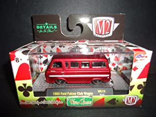 M2 Machines Wild Cards Release 12 1:64 1965 Ford Falcon Club Wagon