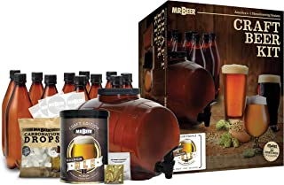 Mr. Beer Complete Beer Making 2 Gallon Starter Kit,...