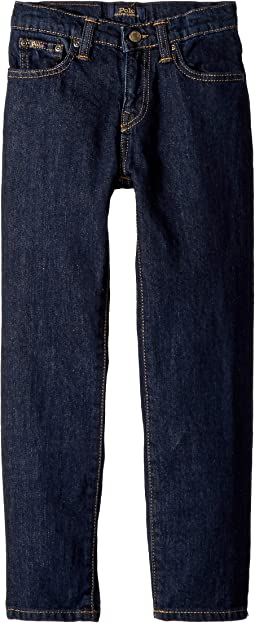 Polo Ralph Lauren Kids Hampton Straight Stretch Jeans (Little Kids)