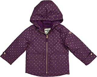 Baby Girls' Midweight Jacket with Fleece Lining