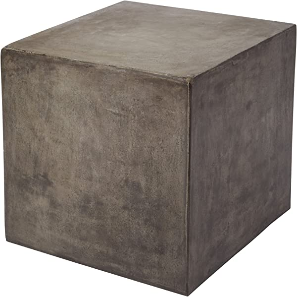 Dimond Home 157 008 Cubo Concrete Cube Table 20 X 20 X 20