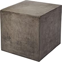 Dimond Home Cubo Concrete Cube Table, 20 x 20 x 20