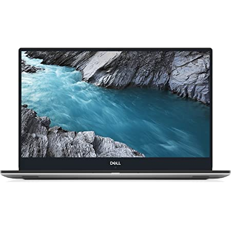 "Dell XPS 9570 Laptop 15.6"" FHD, 8th Gen Intel Core i7-8750H CPU, 16GB RAM, 512GB SSD, GeForce GTX 1050Ti, Thin bzl 400 Nits Display, Silver, Windows 10 Home - XPS9570-7996SLV-PUS, Gaming Capable"