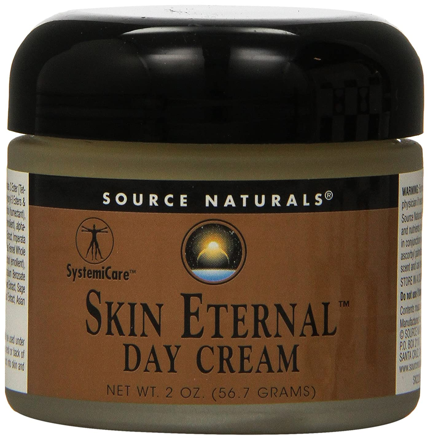 フェロー諸島速報火海外直送品 Source Naturals Skin Eternal Day Cream, 2 OZ