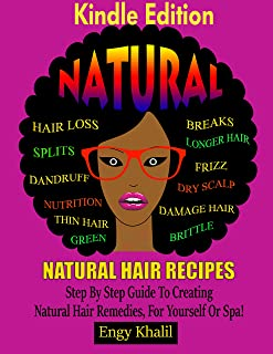 Natural Hair Recipes: Step by Step Guide to Creating Spa Hair Remedies for Yourself or Spa (How to Grow Hair Long Book 3) (English Edition)